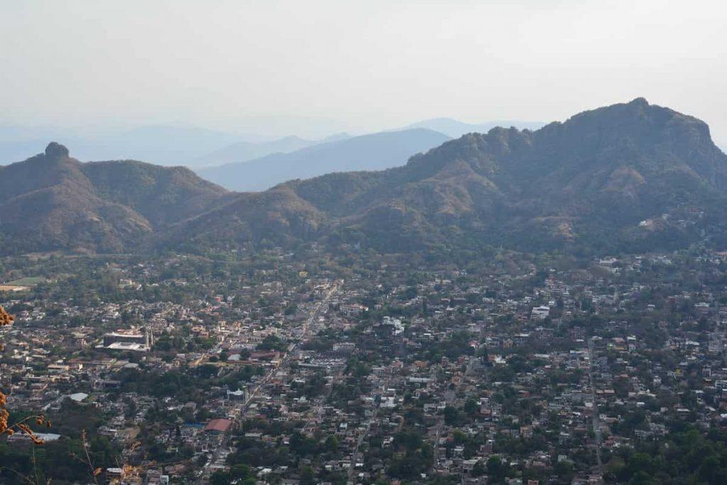 Utsikt över Tepoztlan