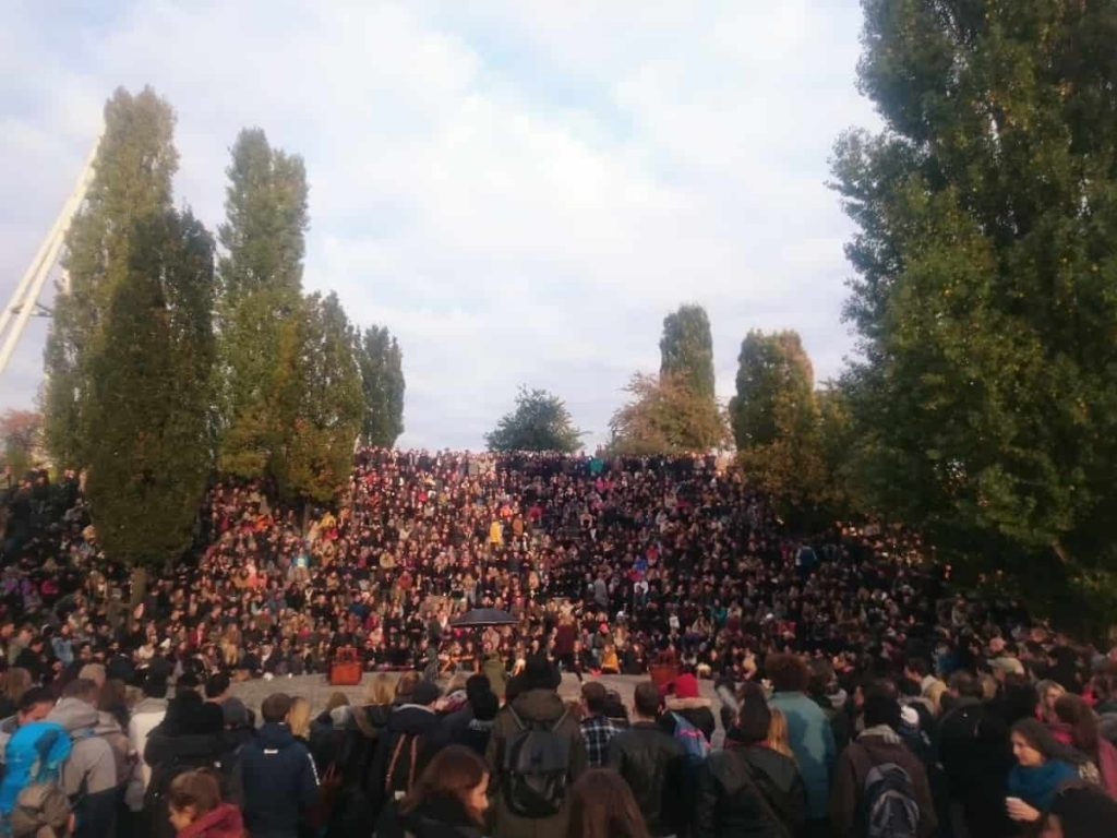 Publiken i Mauerpark