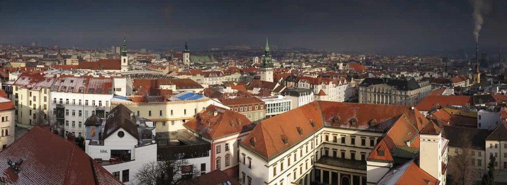 Brno i Tjeckien
