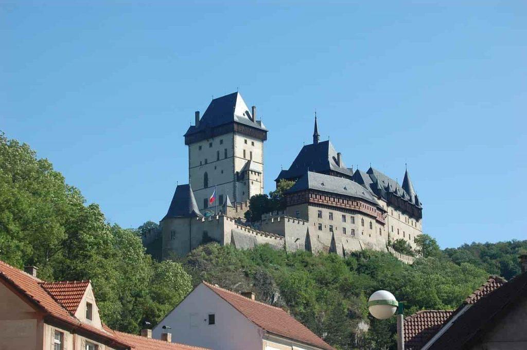 Karstein Slott i Tjeckien