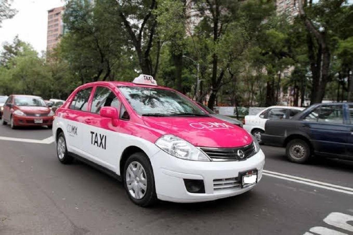 Taxi i Mexico City