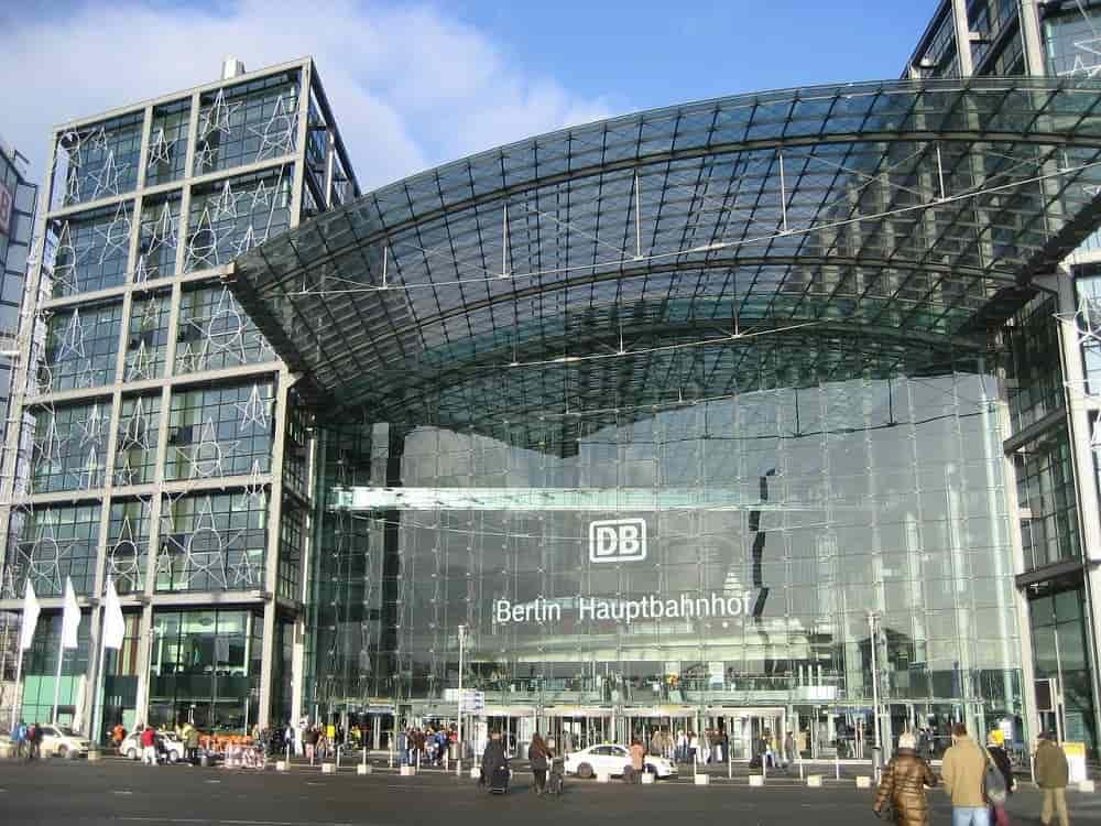 Berlins tågstation