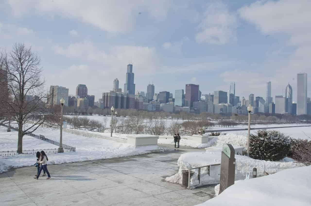 Chicago på vintern