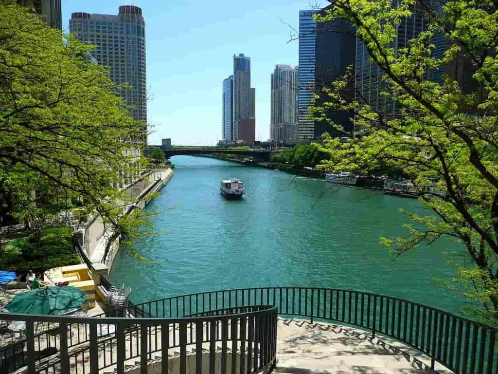 Chicagofloden i Chicago