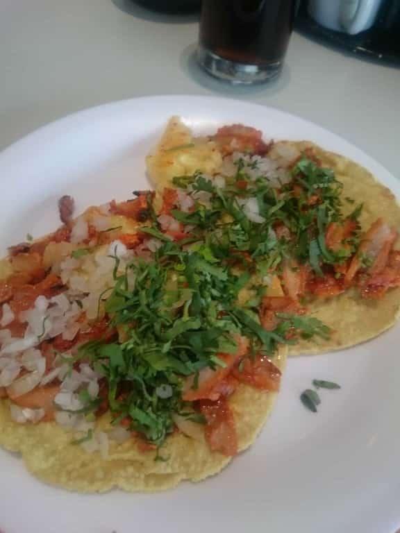 Tacos al Pastor i Mexiko