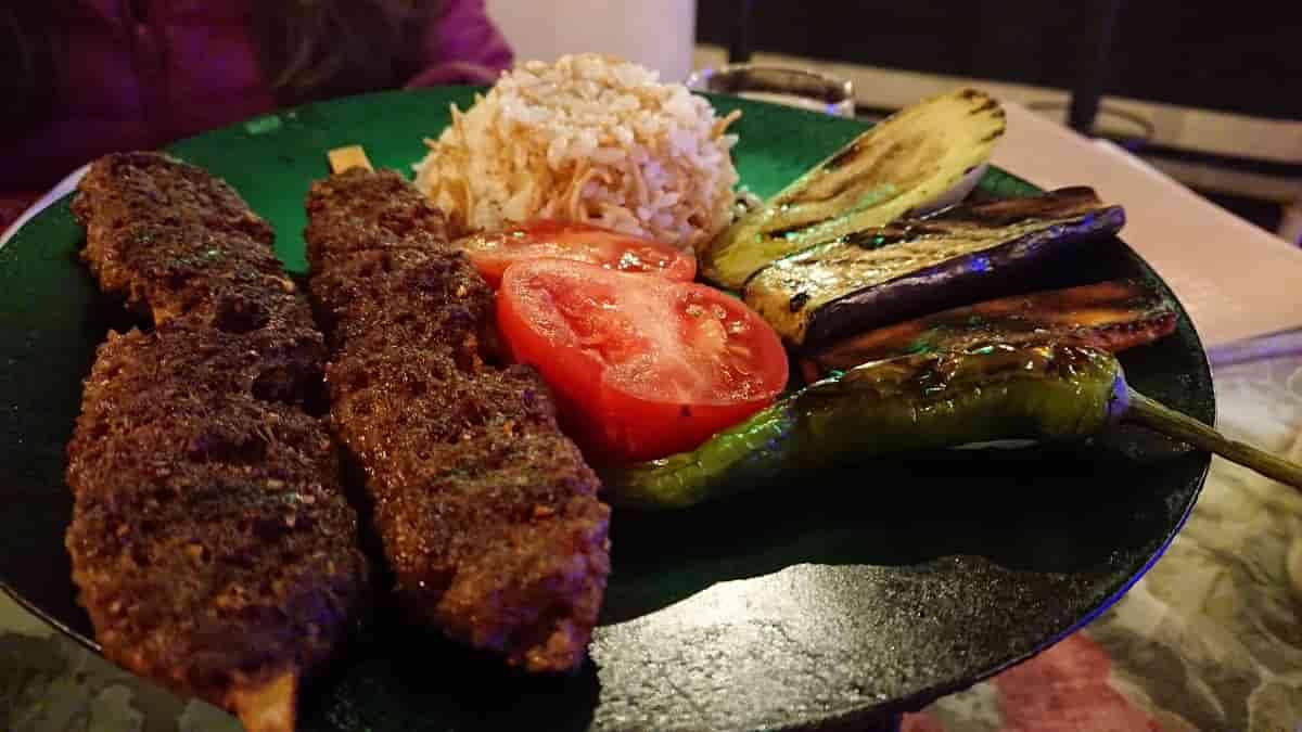 Den bästa måltiden i Pamukkale