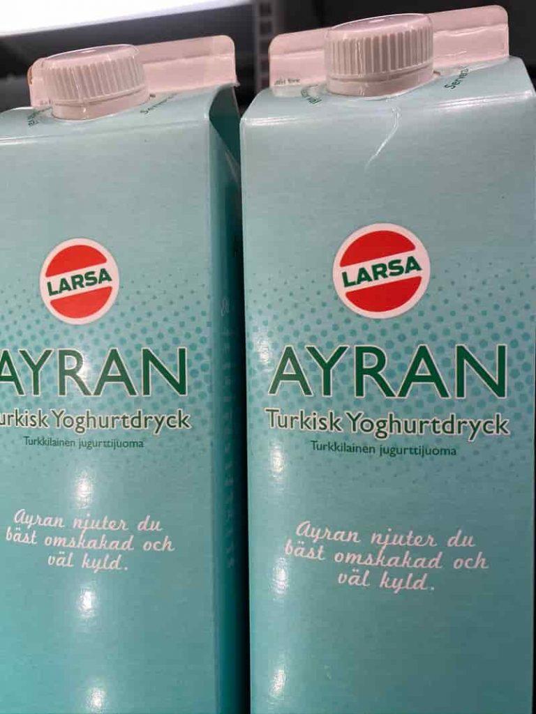 Ayran Yogurt i Sverige