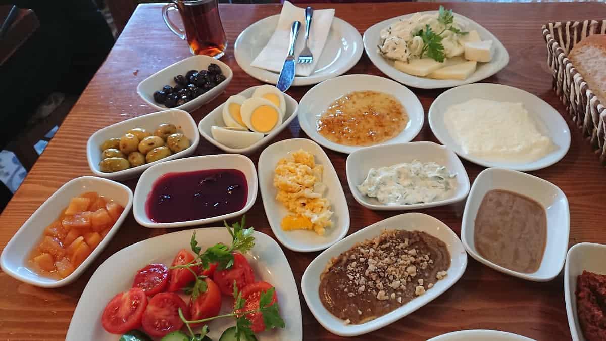 Turkisk Frukostbuffé