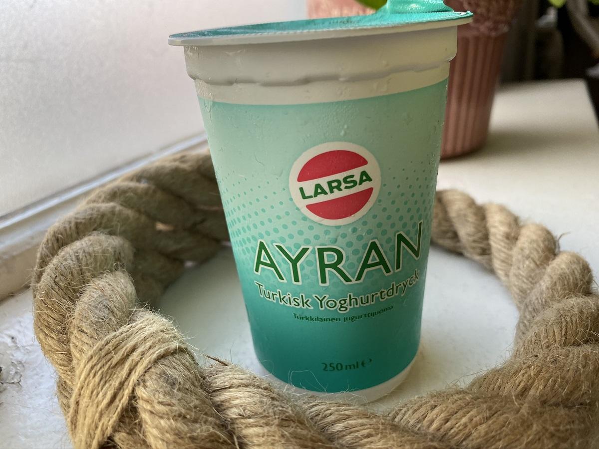 Turkiska Yoghurtdrycken Ayran