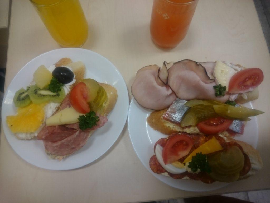 Chlebíčky - Små tjeckiska smörgåsar