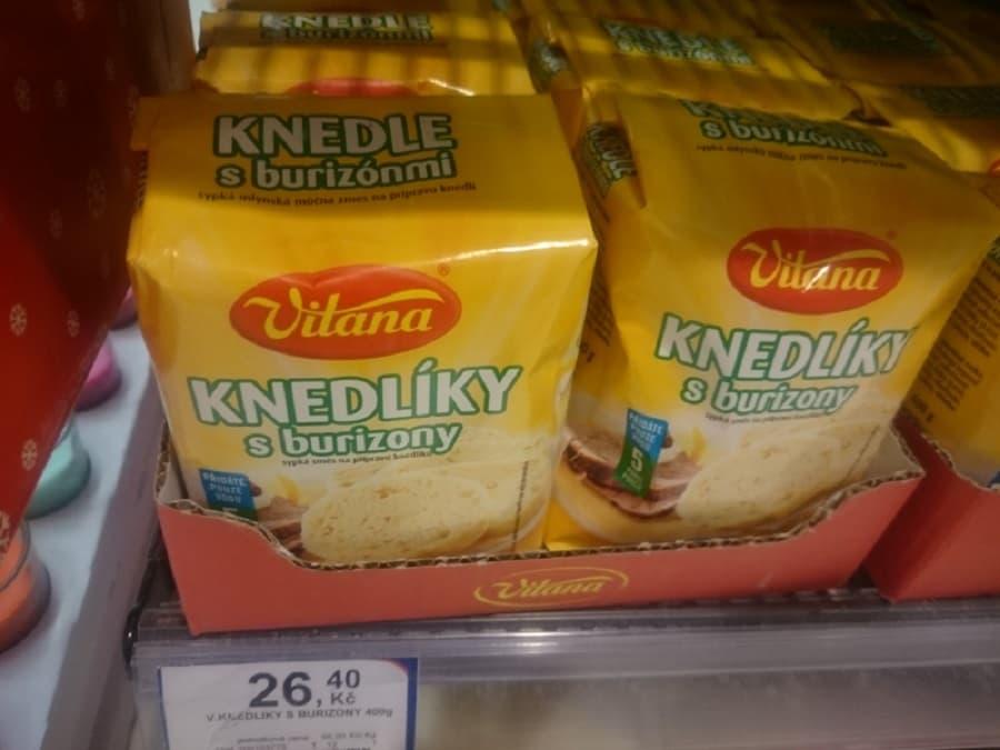 Knedlíky mjöl i Tjeckien