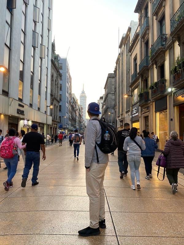 Residiot i Centrala Mexico City