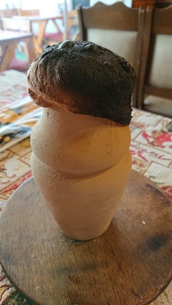 Lerkruka med Testi Kebab