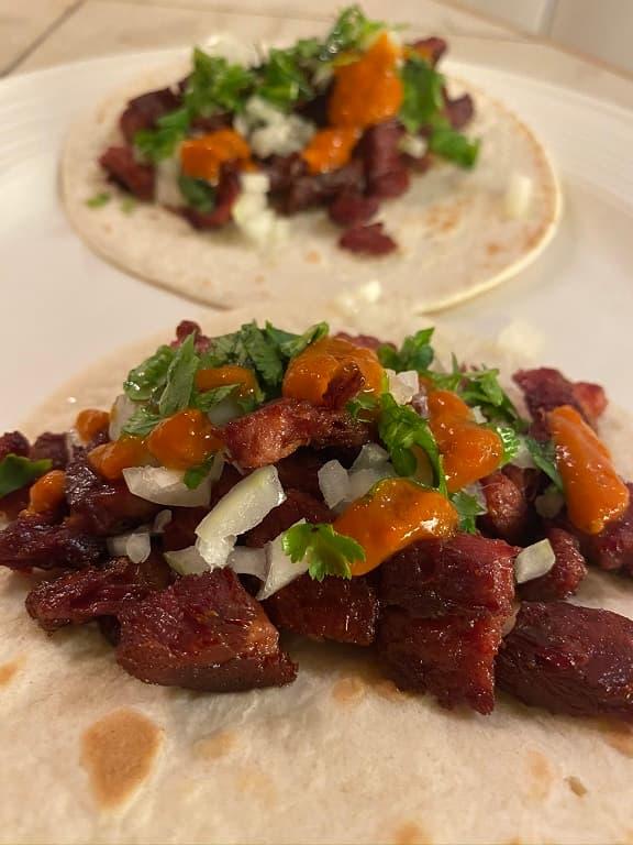 Färdiga Tacos