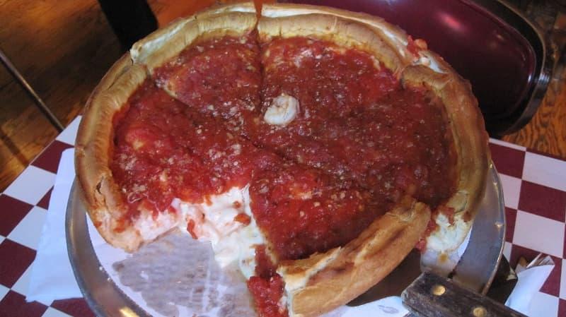 Pizza i Chicago